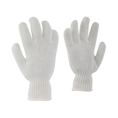 Glove-70% Nylon/30% Poly.-Elast.knit