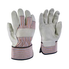 Glove-Cowgrain-Flan.-Striped-Rubber.