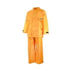 Suit-420d Nylon/PVC-Sealed-Roll-in hood