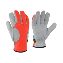 Glove-Water repell.leather-Ball.nylon-Anti-chip