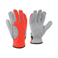 Glove-Water repell.leather-Ball.nylon-Anti-chip-Double Palm