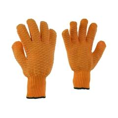 Glove-70% Nylon/30% Poly.-Suregrip-Elast.knit