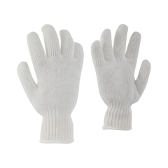 Glove-100% Poly.-Elast.knit