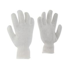 Glove-100% Poly.-Elast.knit