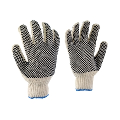 Glove-Poly./PVC-Elast.knit