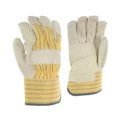 Glove-Cowgrain-Palm lined-Striped-PE