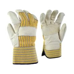 Glove-Cowgrain-Wool