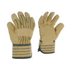 Glove-Pigskin-Striped-PE-Unlined