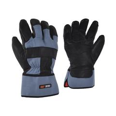 Glove-Cowgrain-Foam/Flan.-Solid-PE