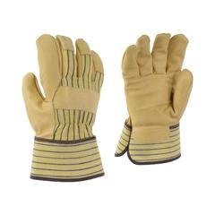 Glove-Pigskin-Striped-PE-Unlined