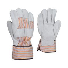 Glove-Cowsplit-Striped-PE-Unlined