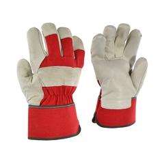Glove-Cowgrain-Foam/Flan.-Solid-Rubber.