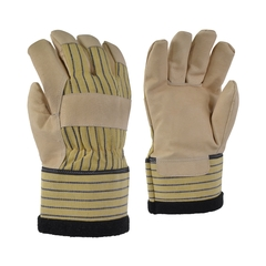 Glove-Pigskin-Fleece-Striped-PE