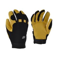 Glove-Deerskin-Spandex-Unlined