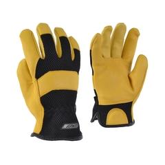 Glove-Deerskin-Mesh-Unlined