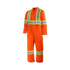 Coverall-65%polyester 35%cotton---6OZ-Poly.-Reflect.stripe