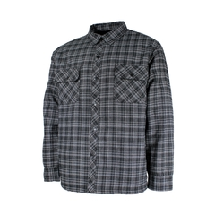 Shirt jacket-Flan.-Quilted nyl.