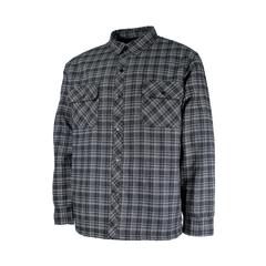 Chemise de type manteau-Flan.-Nyl.piqué