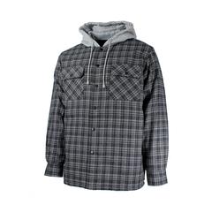 Chemise de type manteau-Flan.-Nyl.piqué-Capuchon
