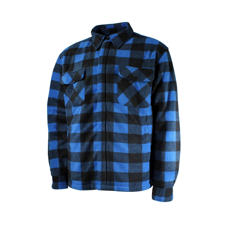 Chemise de type manteau-Polar-Doublure de Boa