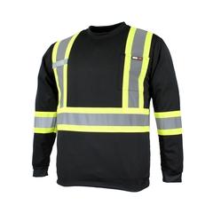 T-Shirt long sleeves-10/4 JOB Quick Dry-3M stripes-Radio Hol