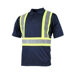 Polo short sleeves-10/4 JOB Quick Dry-Reflect.stripe