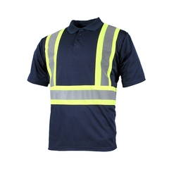 Polo short sleeves-10/4 JOB Quick Dry-Reflect.stripe