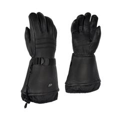 Glove Deerskin Flan Detach Thin Anti Snow Strap At Wrist