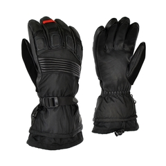 Glove-Goatskin-Nylon-Detach.-Ultra Suede on thumb