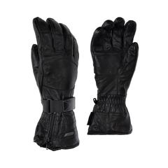Glove-Sheepskin-Sherpa-Strap at wrist