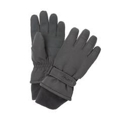 Glove-100% Poly.-Fleece-Strap at wrist