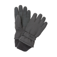 Glove-100% Poly.-Fleece-Strap at wrist