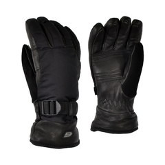 Glove-Deerskin-Fleece-Thin.-Nylon-Ultra Suede on thumb