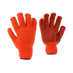 Glove-Acry. knit-PVC dots-Acry.knit