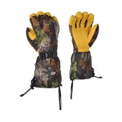 Glove-Deerskin-Flan.-Thin.-Poly/PU-Adjustment cord