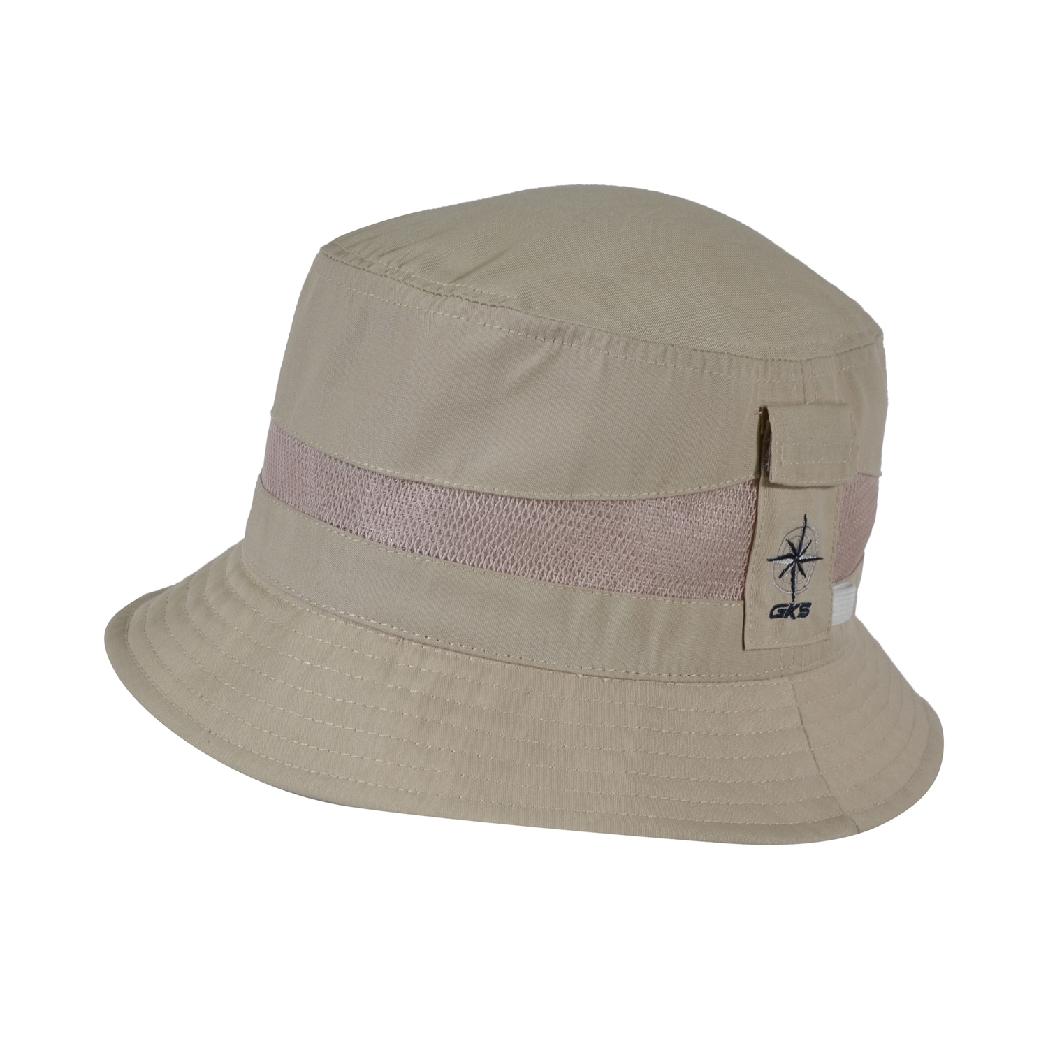 Bucket hat-Mesh and Polycotton-Small pocket