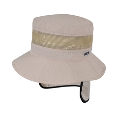 Bucket hat-Mesh and Polycotton