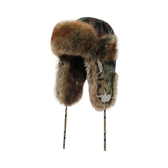 Hat-Poly./PU-Fake fur