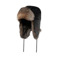 Hat-Goatskin-Quilted nyl.-Rabbit fur