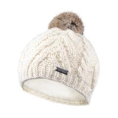 Tuque-Knit-Rabbit fur