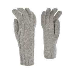 Glove-10%Nylon20%Angora70%Wool