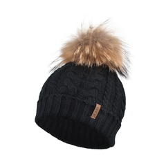 Tuque-Poly/Acry knit-Fleece