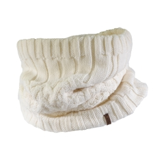 Intfinity scarf-Acrylic knit-Plush