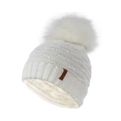 Tuque-Tricot acrylique-Polar-Pompon