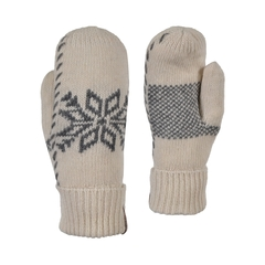 Mitt-65%acrylic 35% wool-Poly.