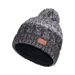Tuque-Acry. knit-Fleece-Pompom