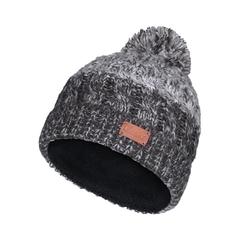 Tuque-Acry. knit-Fleece-Pompom