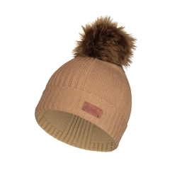 Tuque-52%viscose19%nylon29%poly-Pompon