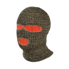 Balaclava 3 holes-Acry. knit