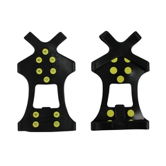 Ice cleats for boots-Rubber-M: 4-8  L: 8.5-13.5 XL: 14+